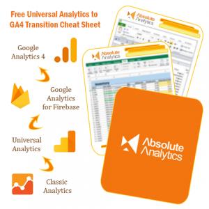 Free Universal Analytics to GA4 Transition Cheat Sheet image